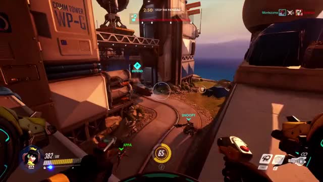 Watch and share Overwatch GIFs and Comeback GIFs by Nathan Kelly on Gfycat