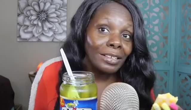 Watch and share Pickles ASMR Eating Mouth Sounds👅 👄 My Biggest Fear GIFs on Gfycat