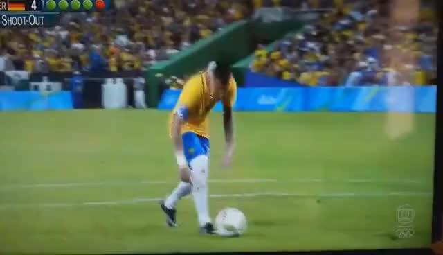 Watch and share Brasil X Alemanha - HD - Melhores Momentos, Gols E Pênaltis - 20/08/2016 Olimpiadas Rio GIFs on Gfycat