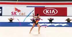 Watch and share Rhythmic Gymnastics GIFs and Katsiaryna Halkina GIFs on Gfycat