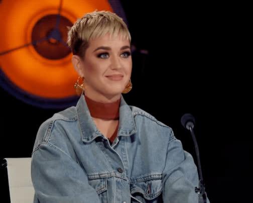 american idol, flirt, giddy, hello, hi, katy perry, Katy Perry Hi GIFs