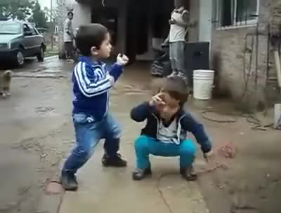 Watch and share Niños Bailando Los  Wachiturros GIFs on Gfycat