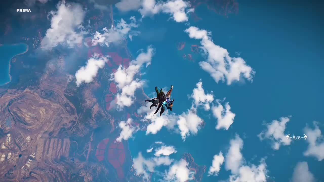 justcause, People Parachute (Patent Pending) GIFs