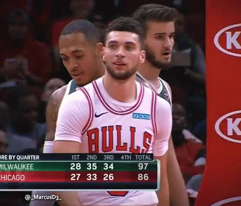 Watch and share Zach LaVine Smile Reaction GIFs by MarcusD on Gfycat