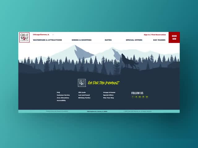 Watch and share Parallax Design GIFs and User Experience GIFs by adamvelasquez on Gfycat
