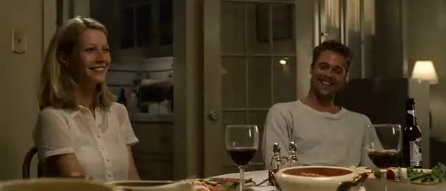 Watch this brad pitt GIF on Gfycat. Discover more brad pitt, date, dinner, gfycatdepot, gwyneth paltrow GIFs on Gfycat