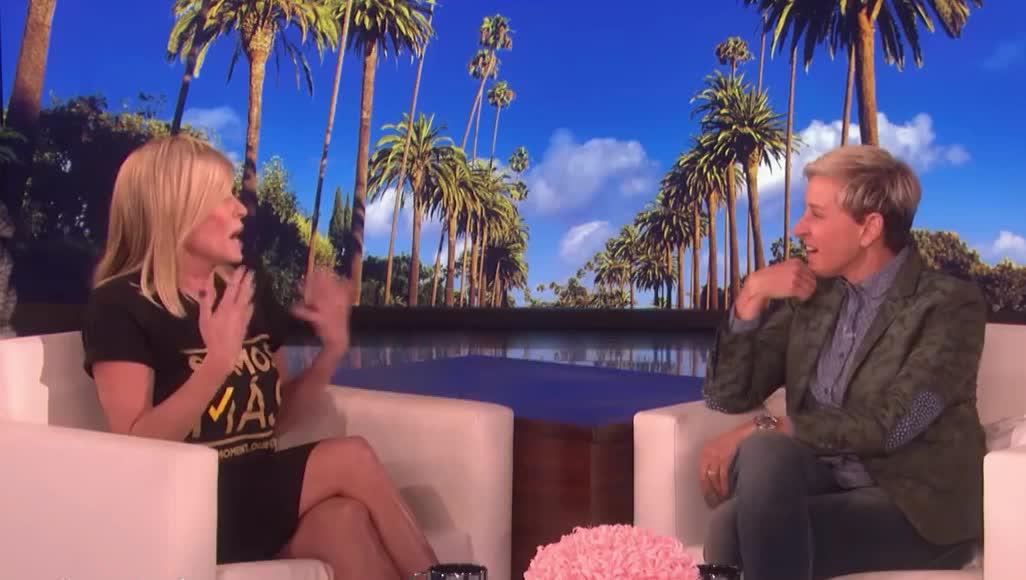 adult, afraid, braces, chelsea, degeneres, ellen, fear, funny, god, handler, lol, my, oh, omg, scare, scream, shock, surprise, teeth, Chelsea Handler Braces for a Scare! GIFs
