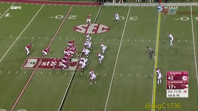 Watch and share College Football GIFs and Jonathan Allen GIFs by jxk5441 on Gfycat