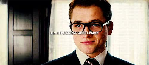 Watch and share Taron Egerton GIFs and Eggsy Unwin GIFs on Gfycat