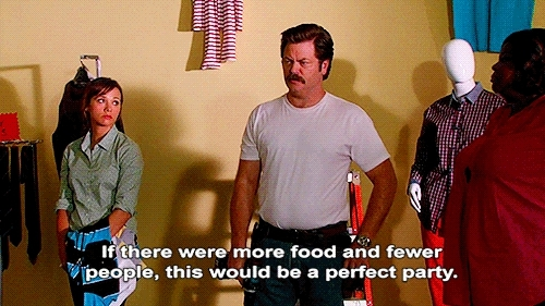 food, nick offerman, parks and rec, parks and recreation, ron swanson,  GIFs