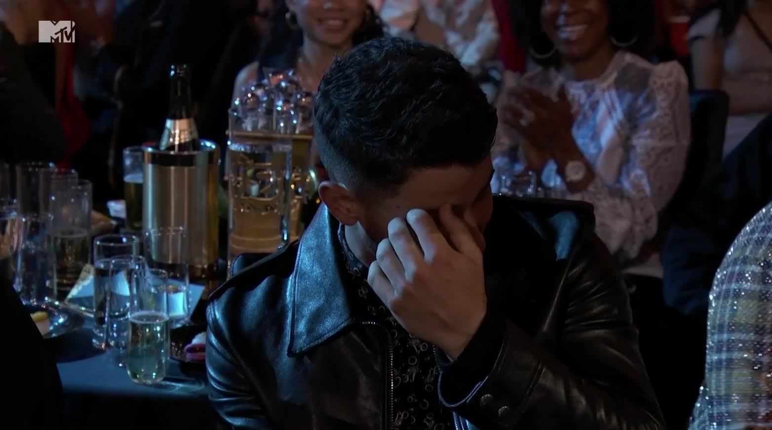 MTV Movie Awards 2018, MTVMovieAwards2018, celebrity, celebs, nick jonas, Nick Jonas MTV Movie Awards GIFs