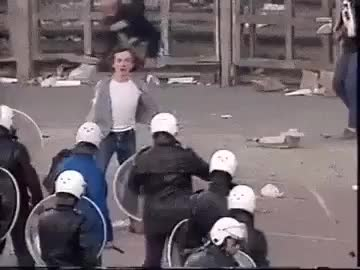 Watch and share Throwing A Rock At The White Helmets Wcgw GIFs on Gfycat