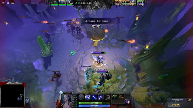 Watch Arcane Assault GIF by @cthursten on Gfycat. Discover more dota2 GIFs on Gfycat