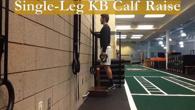 Watch and share Single-Leg KB Calf Raise GIFs by Deus Athletics on Gfycat