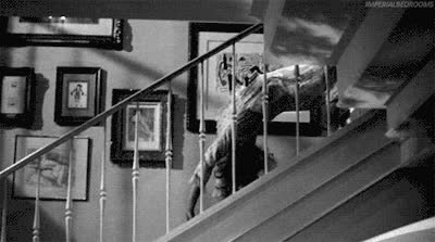 creepy, scary, spooky, Creepy GIFs