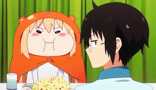Watch and share Umaru Doma GIFs on Gfycat