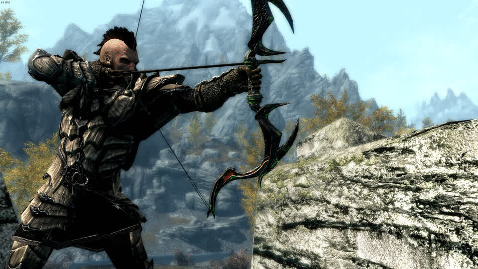 archery, killcam, skyrimporn, Airin - archery killshot 1 GIFs