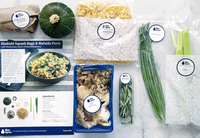 Watch and share A Vegetarian Shokichi Squash Ragu With Mushrooms, Rosemary, And Parmesan From My Week Of Blue Apron Meals! GIFs on Gfycat