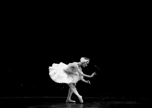 Watch and share Black And White GIFs and Ballet Dancer GIFs on Gfycat