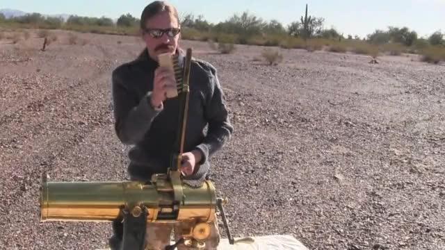 "Watch Reproduction 1877 ""Bulldog"" Gatling Gun GIF by @wholeein on Gfycat. Discover more 1877, Bulldog, militarygfys GIFs on Gfycat"