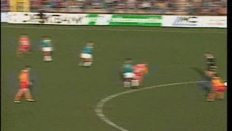 Watch and share Edgar Davids. Go Ahead Eagles - Ajax. 31.01.1993 GIFs by fatalali on Gfycat