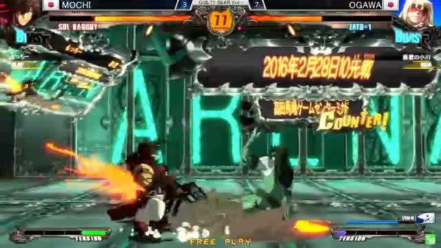 guilty gear xrd -revelator-, ミカドランバト, ミカド天下一武道会, MOCCHI!!!!!!!! GIFs
