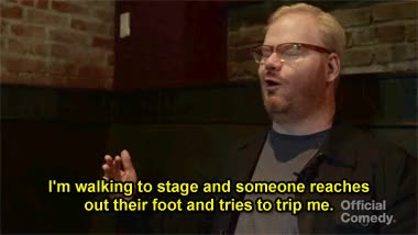 Watch and share Jim Gaffigan GIFs on Gfycat