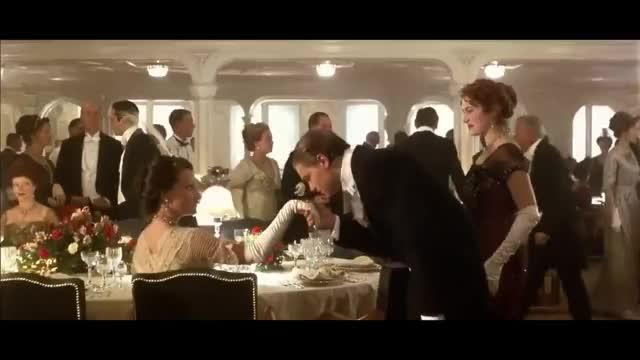 Titanic Dinner scene GIF | Find, Make & Share Gfycat GIFs
