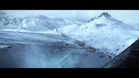 TIE, XWing, Force Awakens Dogfight GIFs