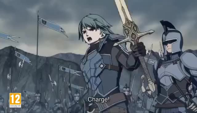 Watch and share Fire Emblem Echoes - Launch Trailer (Nintendo 3DS) GIFs on Gfycat