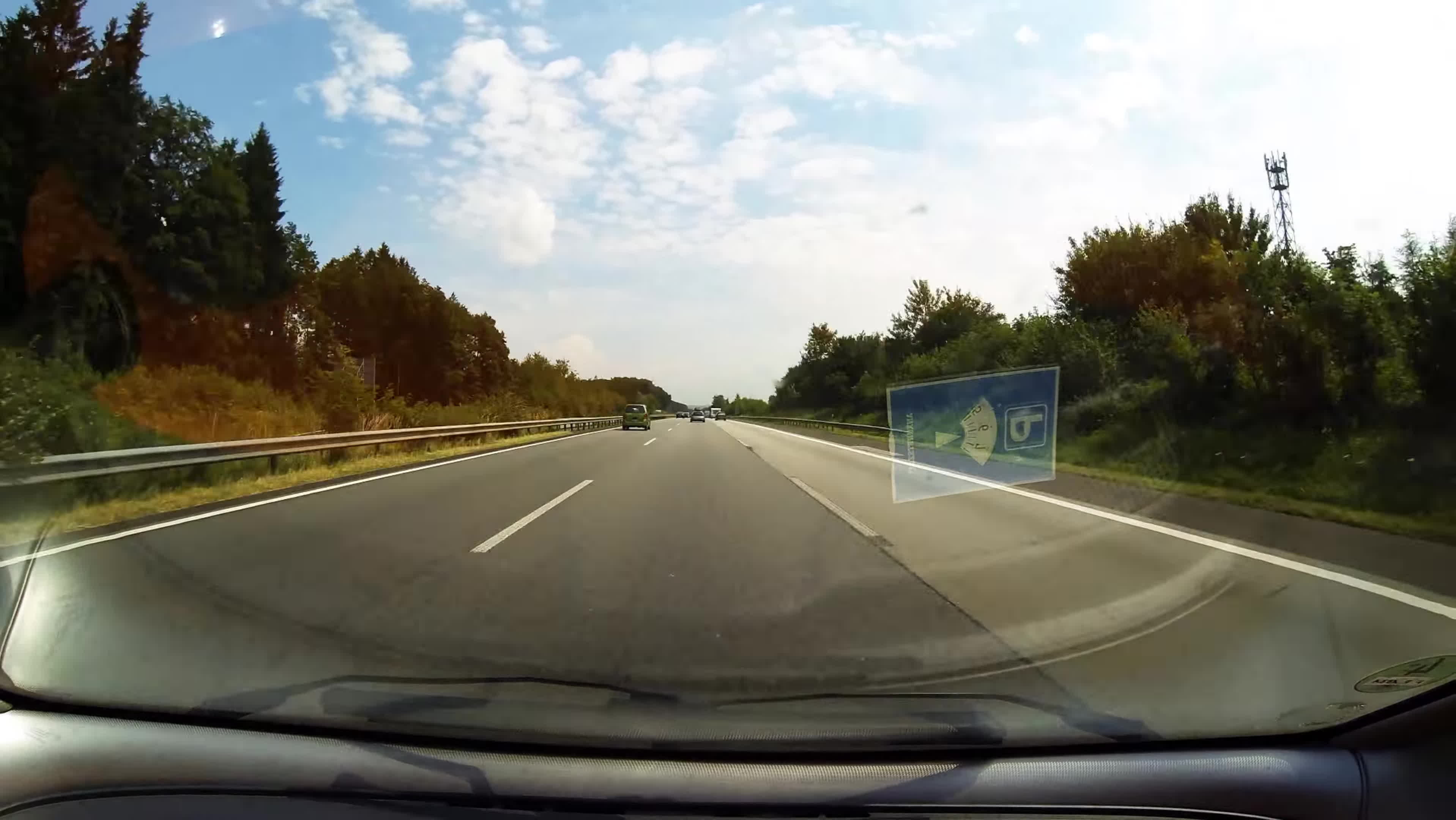 autobahn, oddlysatisfying, timelpase, Timelapse on the german Autobahn from Cologne to Frankfurt GIFs