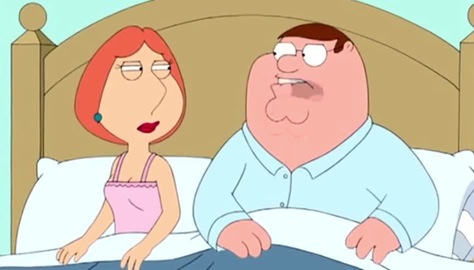 annoyed, anooying, bed, best, bird, epic, family, funny, guy, is, lois, lol, mcfarlane, peter, scene, seth, sing, song, the, word, Family Guy - The bird is the word GIFs