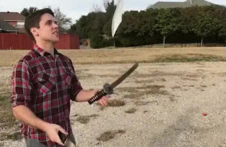 Watch and share Juggling GIFs and Knives GIFs on Gfycat
