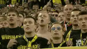 Watch and share Dortmund-fans-arsenal GIFs on Gfycat