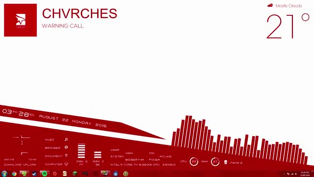 Watch and share Mirrorsedge GIFs and Rainmeter GIFs on Gfycat