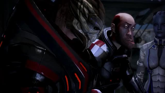 Watch WAT_mass effect GIF on Gfycat. Discover more appearance, face, funny, mod, morph, ugly GIFs on Gfycat