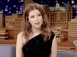 Watch and share The Tonight Show GIFs and Anna Kendrick GIFs on Gfycat