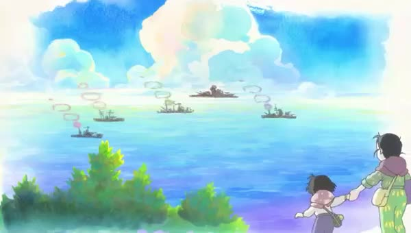 In this Corner of the World, anime, corner, drawing, in, in this corner of the world, of, paint, the, this, war, world, In this Corner of the World GIFs