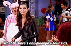Watch and share Gif Friends F.R.I.E.N.D.S Phoebe Buffay Rachel Green Monica Geller Season 8 The One With The Halloween Party GIFs on Gfycat