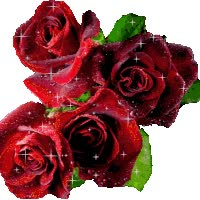 Watch and share BOUQUET DE ROSAS ROJAS (glitter) animated stickers on Gfycat
