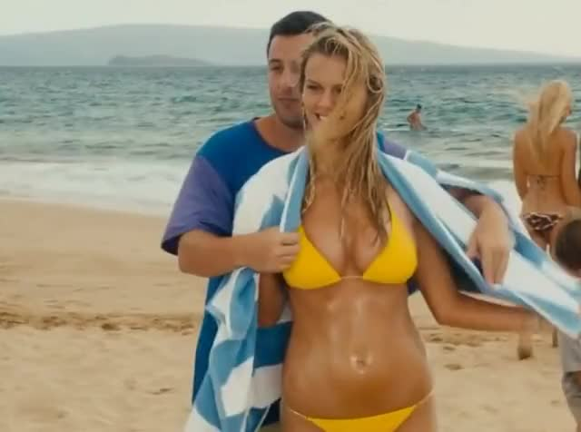 Watch and share Brooklyn Decker GIFs and Adam Sandler GIFs by pweller on Gfycat