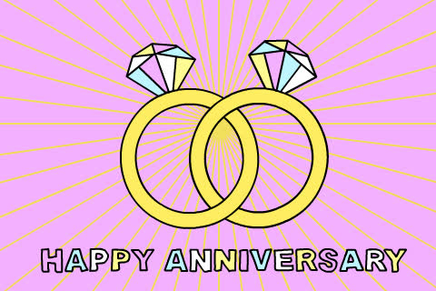 anniversary, happy anniversary, love, marriage, wedding, wedding GIFs