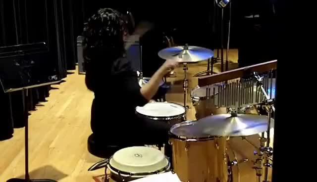 Watch The Chicken GIF on Gfycat. Discover more drums, female drummer, jazz, percussion, the chicken GIFs on Gfycat