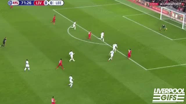 Watch and share Liverpool Gifs - Wijnaldum Off The Post For Liverpool! #LivLee GIFs on Gfycat