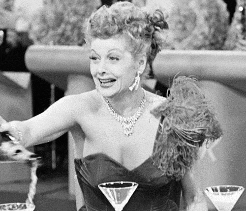 Lucille Ball, cheers, drinking, glassesup, cheers GIFs