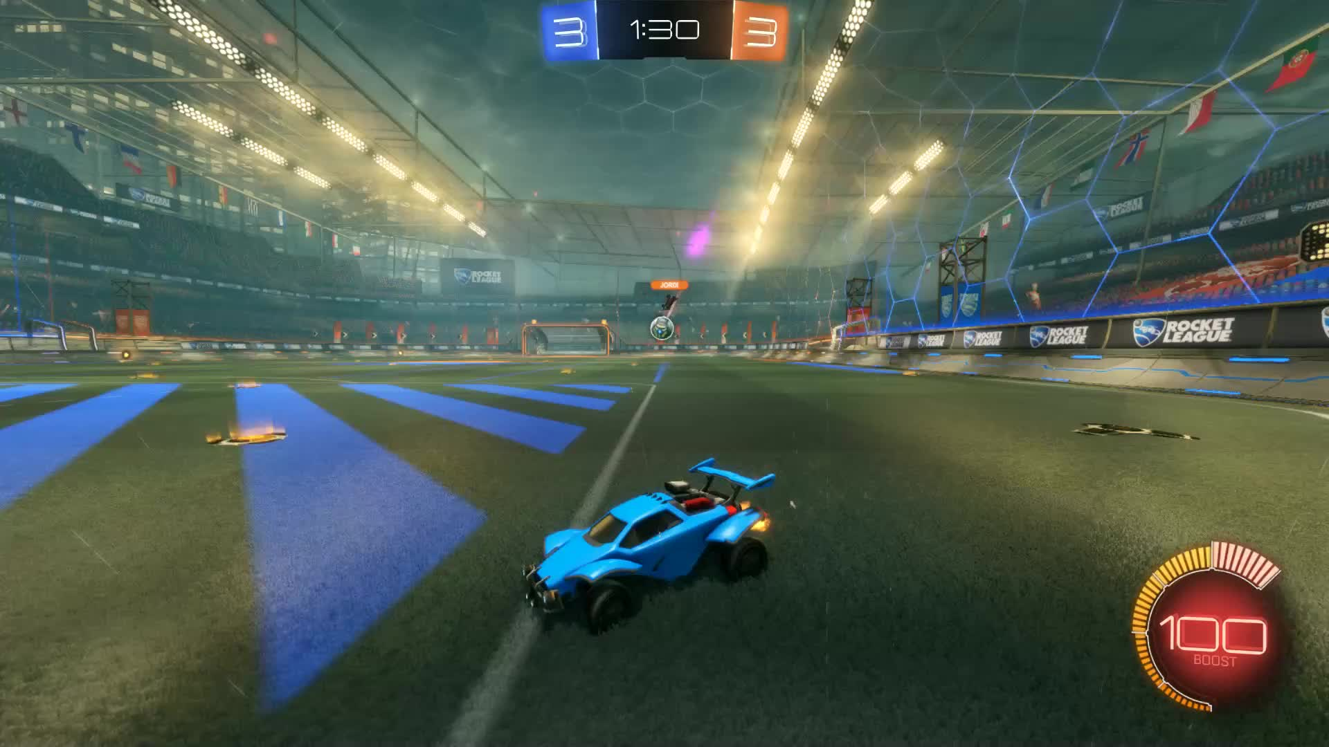 Gif Your Game, GifYourGame, Goal, Rocket League, RocketLeague, andreas, Goal 7: andreas GIFs