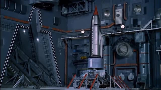 Watch and share Thunderbirds Launches And Landings HD GIFs on Gfycat