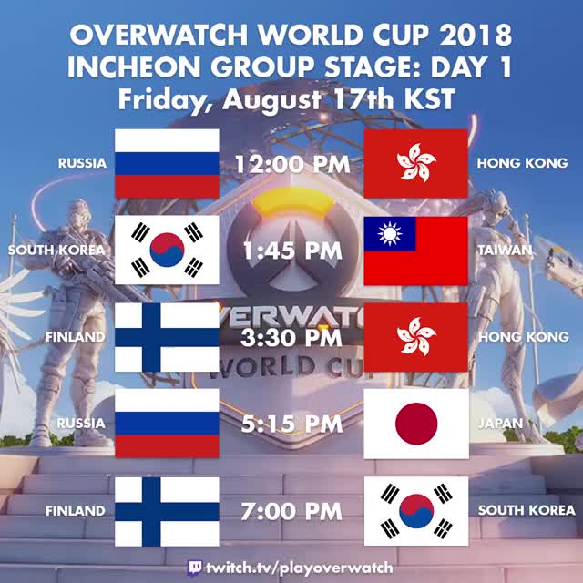 Watch and share Overwatch World Cup GIFs and South Korea GIFs by itsjieyang on Gfycat