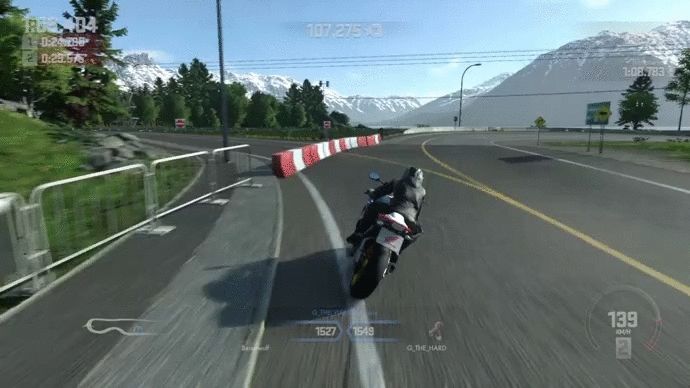 motorcycles, ps4, Driveclub Bikes: Wheelie time! GIFs