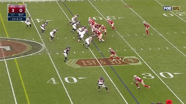 Watch Gabbert underthrows Smith 49ers Falcons GIF by @mrg80 on Gfycat. Discover more nfl GIFs on Gfycat